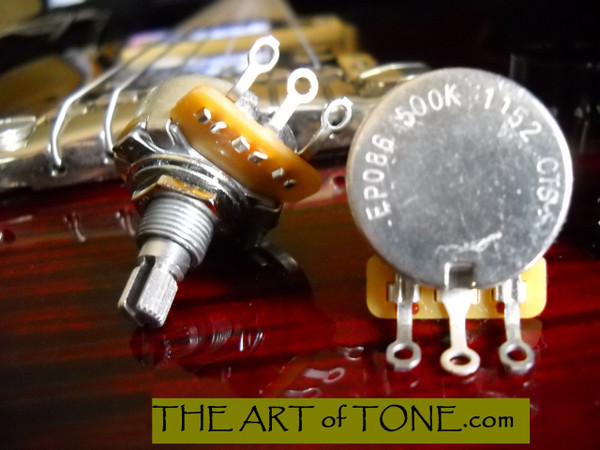 CTS 500KA Short Shaft Potentiometer
