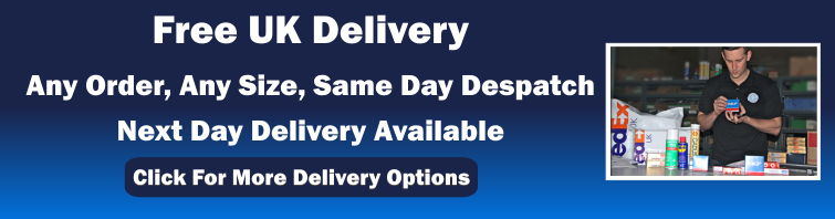 Free UK Delivery, Same Day Despatch, Next Day Delivery Available