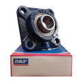 FY1.1/2FM - SKF Flanged Y Bearing Unit - Square Flange - 38.1 Bore