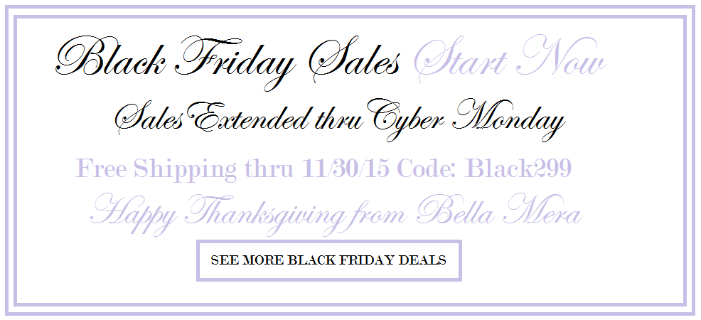 BLACK FRIDAY BRIDAL SALES ONLINE