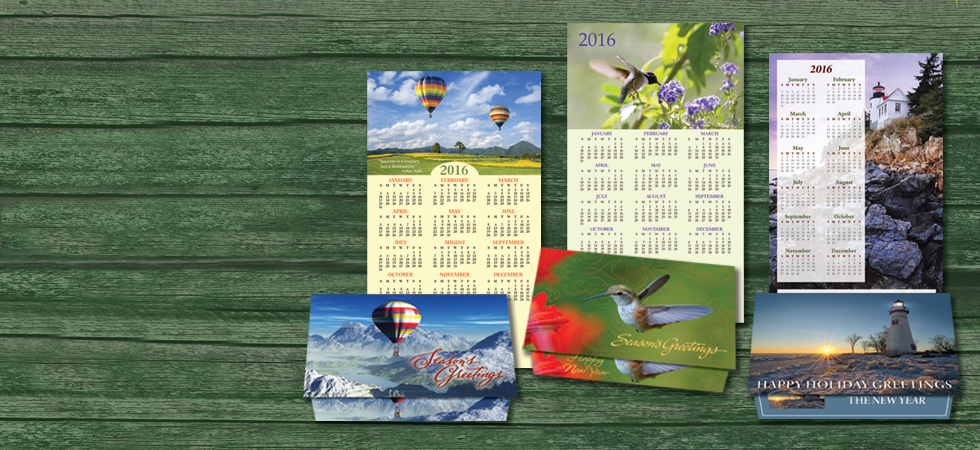 New Calendar Card Designs
