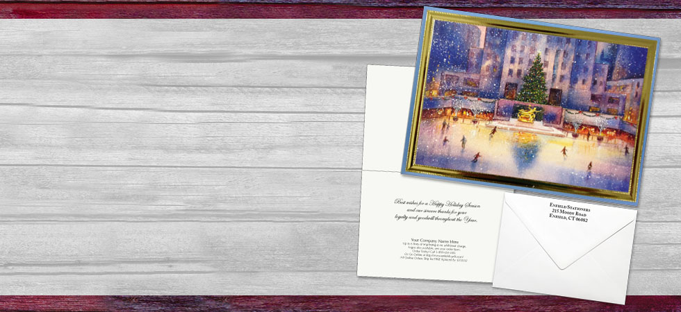 Traditional Business Greeting Cards