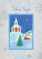 Graphic Silent Night  #FRS445