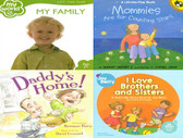My Family: Set of 4 (Board Book & Paperback)