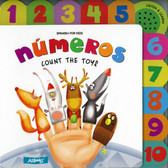 Numeros: Count the Toys (Spanish for Kids) (Sound Board Book)