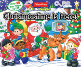 Christmastime Is Here!: Lift-a-Flap (Board Book)