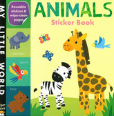 Animals- My First Early Learning Sticker Book: My Little World (Paperback)