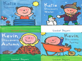 Seasons with Kevin and Katie: Set of 4 (Hardcover)