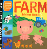 Farm-My First Early Learning Sticker Book: My Little World (Paperback)