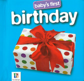 Baby's First Birthday (Board Book)