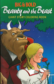 Beauty & The Beast:: Giant Story Coloring Book