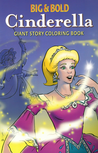 Cinderella Giant Story Coloring Book
