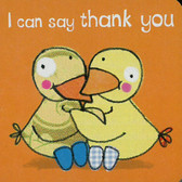 I Can Say Thank You (Chunky Board Book) 3 x 3 x .5 inches