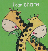 I Can Share (Chunky Board Book) 3 x 3 x .5 inches
