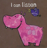 I Can Listen (Chunky Board Book) 3 x 3 x .5 inches