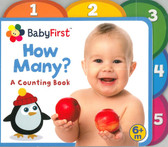 Baby First: How Many? A Counting Book (Board Book)