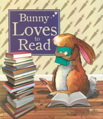 Bunny Loves to Read (Big Hardcover)