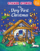 The Very First Christmas: Sticker Stories (Paperback)