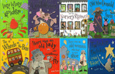 Storytime Rhymes with Kate Toms: Set of 8 (Hardcover)