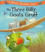 The Three Billy Goats Gruff: 5 Minute Bedtime Tale (Padded Hardcover)