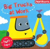 Big Trucks at Work: Lift-A-Flap (Board Book)