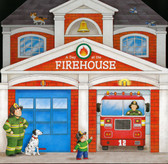 A Day at the Firehouse (Board Book)