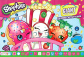 Shopkins: Giant Coloring & Activity Book (Paperback)