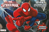 Marvel Spiderman: Giant Coloring & Activity Book (Paperback)