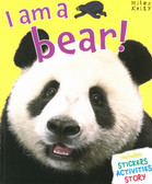 I am a Bear (Paperback with Mask)
