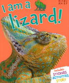I am a Lizard (Paperback with Mask)
