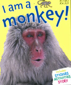 I am a Monkey! (Paperback with Mask)