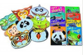 Set includes 8 books with matching masks!