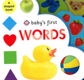 Baby's First Words: (Shaped Board Book)