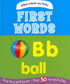 Wipe-Clean First Words (Paperback)