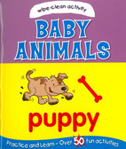 Wipe-Clean Activity Baby Animals (Paperback)