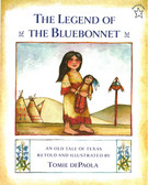 The Legend of the Bluebonnet (Paperback)