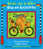 Bear on a Bike / Oso en bicicleta-English and Spanish Edition (Paperback)