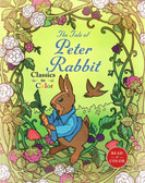 The Tale of Peter Rabbit-Classics to Color (Paperback)