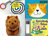 Baby's Cloth Book: Set of 4