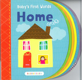 Baby's First Words: Home (Board Book)