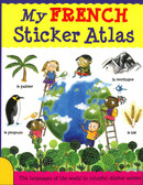My FRENCH Sticker Atlas (Paperback)