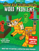 Math for Minecrafters Word Problems: Grades 1-2 (Paperback)