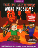 Math for Minecrafters Word Problems: Grades 3-4 (Paperback)