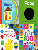 First Words: Set of 4 (Board Book)