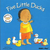 Z/CASE OF 40 - Five Little Ducks: Hands-On Songs (Board Book)