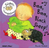 Z/CASE OF 60 - Baa Baa Black Sheep: Sign & Sing Along (Board Book)
