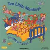 Ten Little Monkeys Jumping on the Bed: Classic Books with Holes Child's Play (Big Paperback)