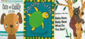 Cuddly Cloth Book Set of 3
