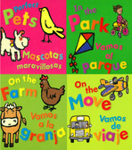 First Words: Bilingual Set of 4 (Board Book)