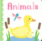 Animals: 3 x 3 x .5 inches (Chunky Board Book)